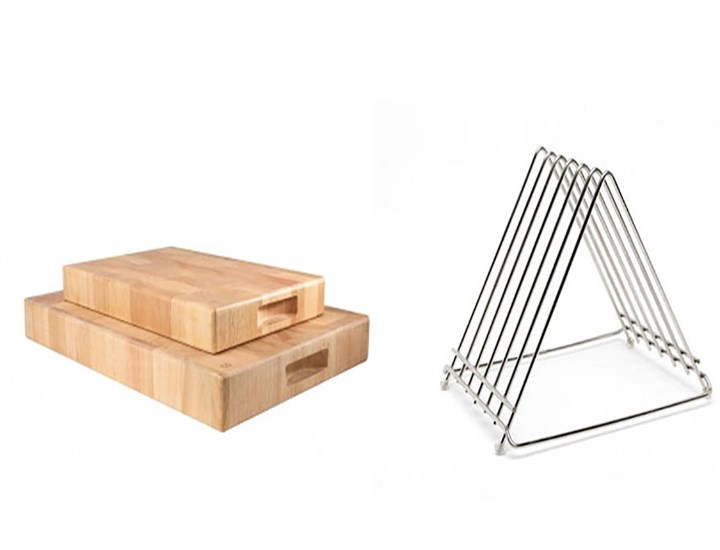 Chopping Boards and Chopping Board Racks