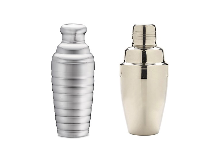 Traditional Cocktail Shakers