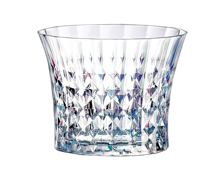 Lady Diamond Highball & Rocks Glasses
