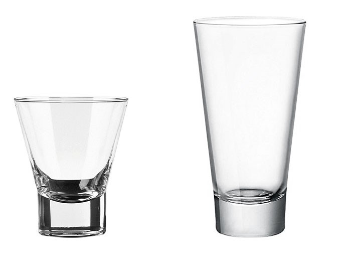 Ypsilon Highball & Rocks Glasses