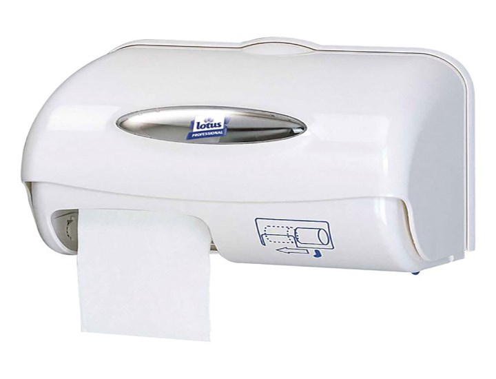 Compact Toilet Roll Dispensers