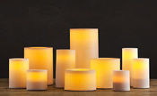 Battery Powered LED Dinner Candles