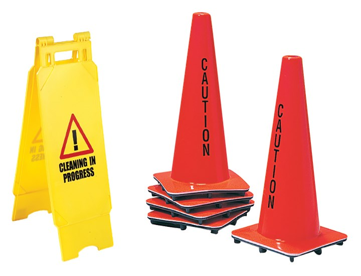 Cones & Floor Signs