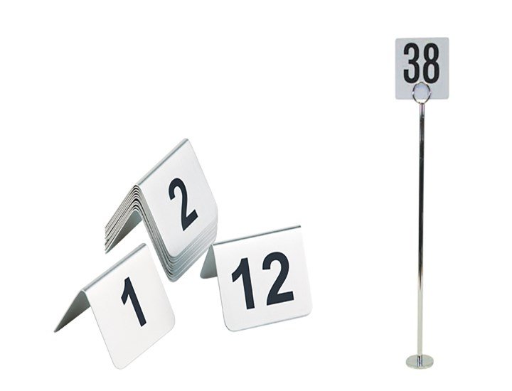 Table Numbers & Stands