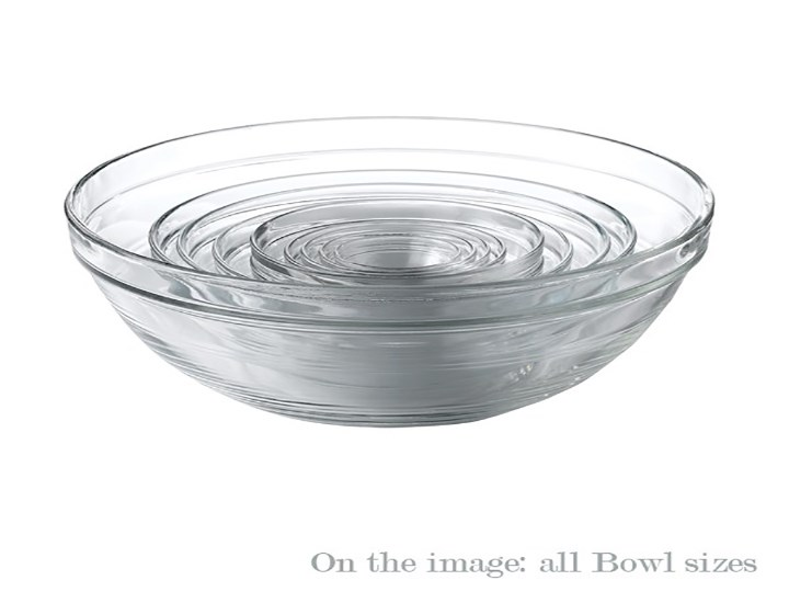 Round Bowls - Glass Collection