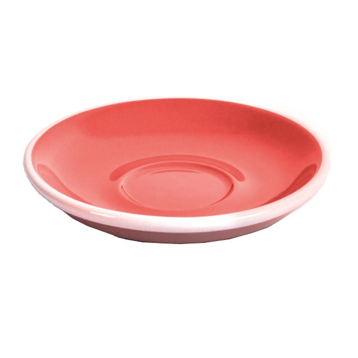 Red Acme Saucer 15.5cm (5.5'')