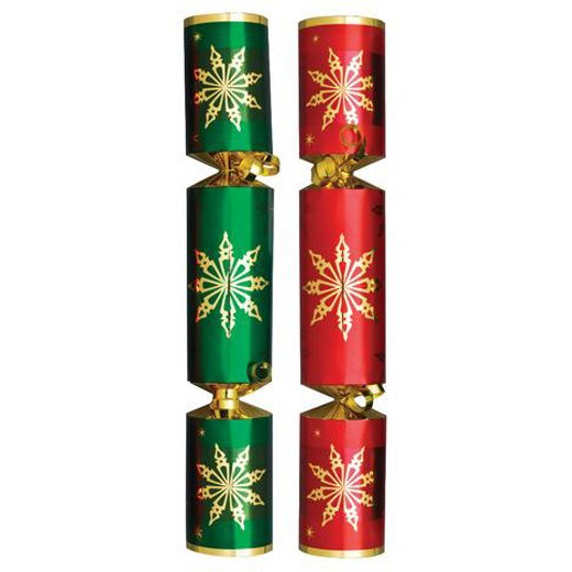 Christmas Cracker Red/Green Star (12'')