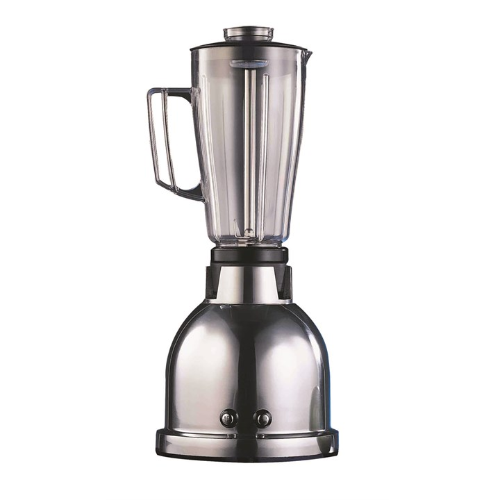 2 Speed Chrome Bar Blender With Polycarb Jug 1.5L