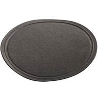 Wax Backed Black Coaster 9cm