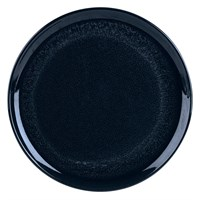 Rustic Pizza Plate Round Black 30cm