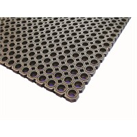 Black Rubber Floor Mat