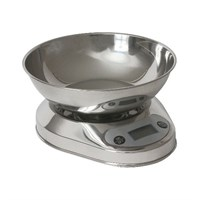 Digital Scales With Steel Bowl 5KG