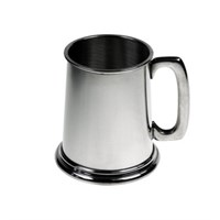Plain Pewter Tankard 28.4cl (9.6oz)
