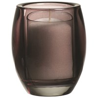 Anthracite Oval Relight Candle Holder