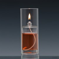 Oslo Tall Oil Lamp With Protected Flame