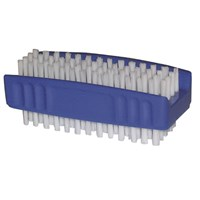 Double Sided Blue Nail Brush