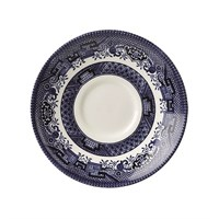 Blue Willow Georgian Saucer 14.1cm (5.6'')