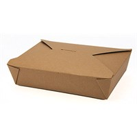 Take Away Out Box Bio Brown 21.7 x 16 x 5cm