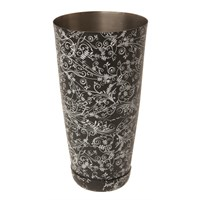 Patterned Boston Cocktail Shaker Base 47cl (16oz)