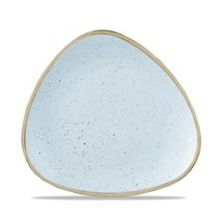 Duck Egg Stonecast Triangle Plate 19.2cm (7.6'')