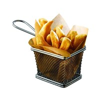 Stainless Steel Frying Basket 10x8x7.5cm