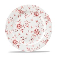 Cranberry Rose Chintz Plate 27.6cm (10.9'')