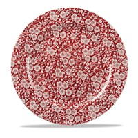 Cranberry Victorian Calico Plate 30.5cm (12'')