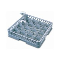 16 Compartment Glass Tray Rack