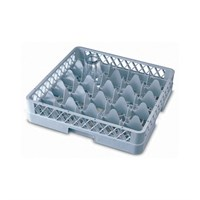 25 Compartment Glass Tray Rack