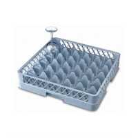 36 Compartment Glass Tray Rack