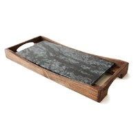 "Soapstone Oven To Table Platter With Tray 40.6cm (16"")"