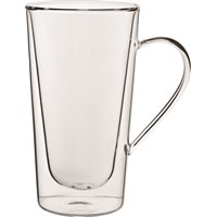 Double-Walled Tall Handled Latte Glass 34cl (12oz)