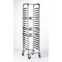 Stainless Steel Gastronorm Trolley With 20 Shelves