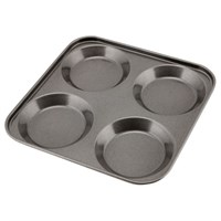 Carbon Steel Non Stick 4 Cup Yorkshire Pudding Tray