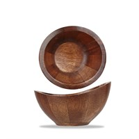 Acacia Bowl Brown 14x7cm 5.5""