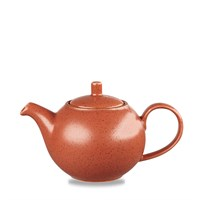 Orange Stonecast Teapot 42.6cl (15oz)