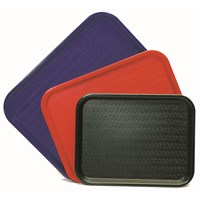 Rectangular Serving Tray Black 35.6 x 27.5cm