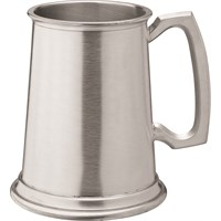 Albany Brushed Pewter Tankard 20oz
