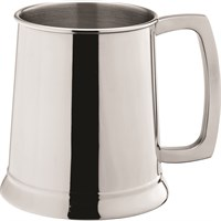 Stainless Steel Handled Tankard 20oz