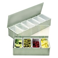 Steel Bar Relish Dispenser 5x1pnt