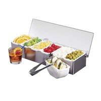 Steel Bar Relish Dispenser 6x1pnt