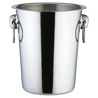 Steel Champagne Bucket With Handles