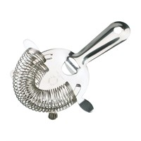 Strainer Hawthorne Steel 4 Prong