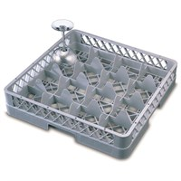 Genware 16 Comp Glass Rack With 1 Extende