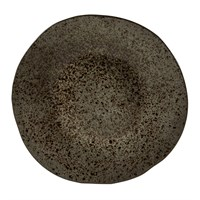 Rustic Iron Stone Main PLate 28.5cm