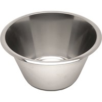 "Straight Stainless Steel Mixing Bowl 39cm (15.4"")"