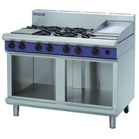 Blue Seal Evolution Cooktop Cabinet Base 8 Burner