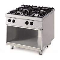 Nayati Amicus 4 Plate Gas Open Burner & Electric Oven