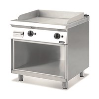 Nayati Meritus Gas Fry Top With Open Cabinet