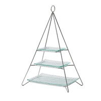 3 x Glass Plate Set For Pyramid Stand 4477121